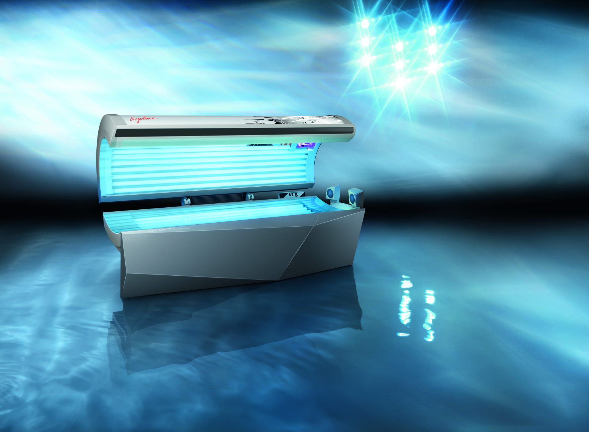Tanning Salon Abbotsford - Gold Sunbed